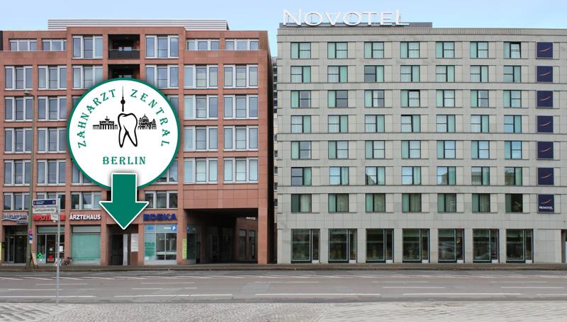 Ärztehaus mit Zahnarzt Zentral Berlin
