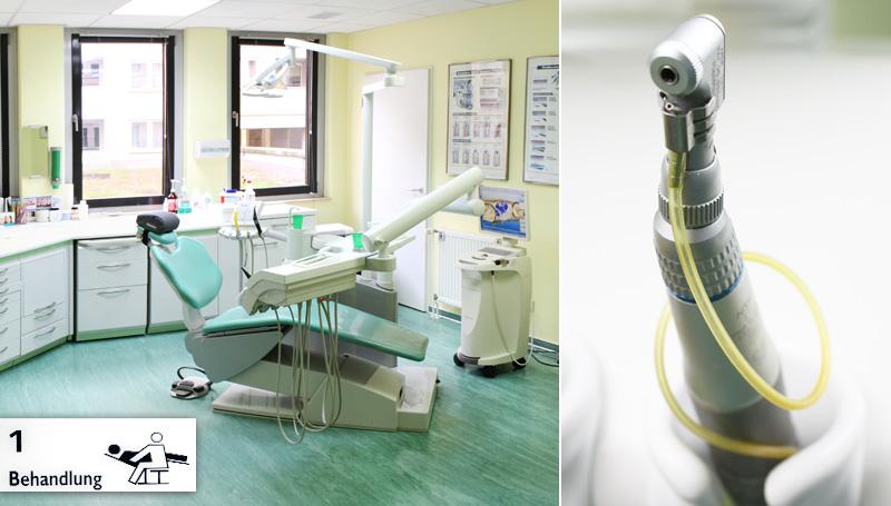 Behandlungsraum 1 von Zahnarzt Zentral Berlin
